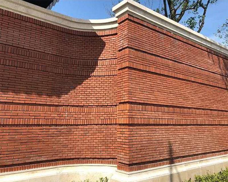 fire Brick Wall Antique Brick Wall Veneer 2